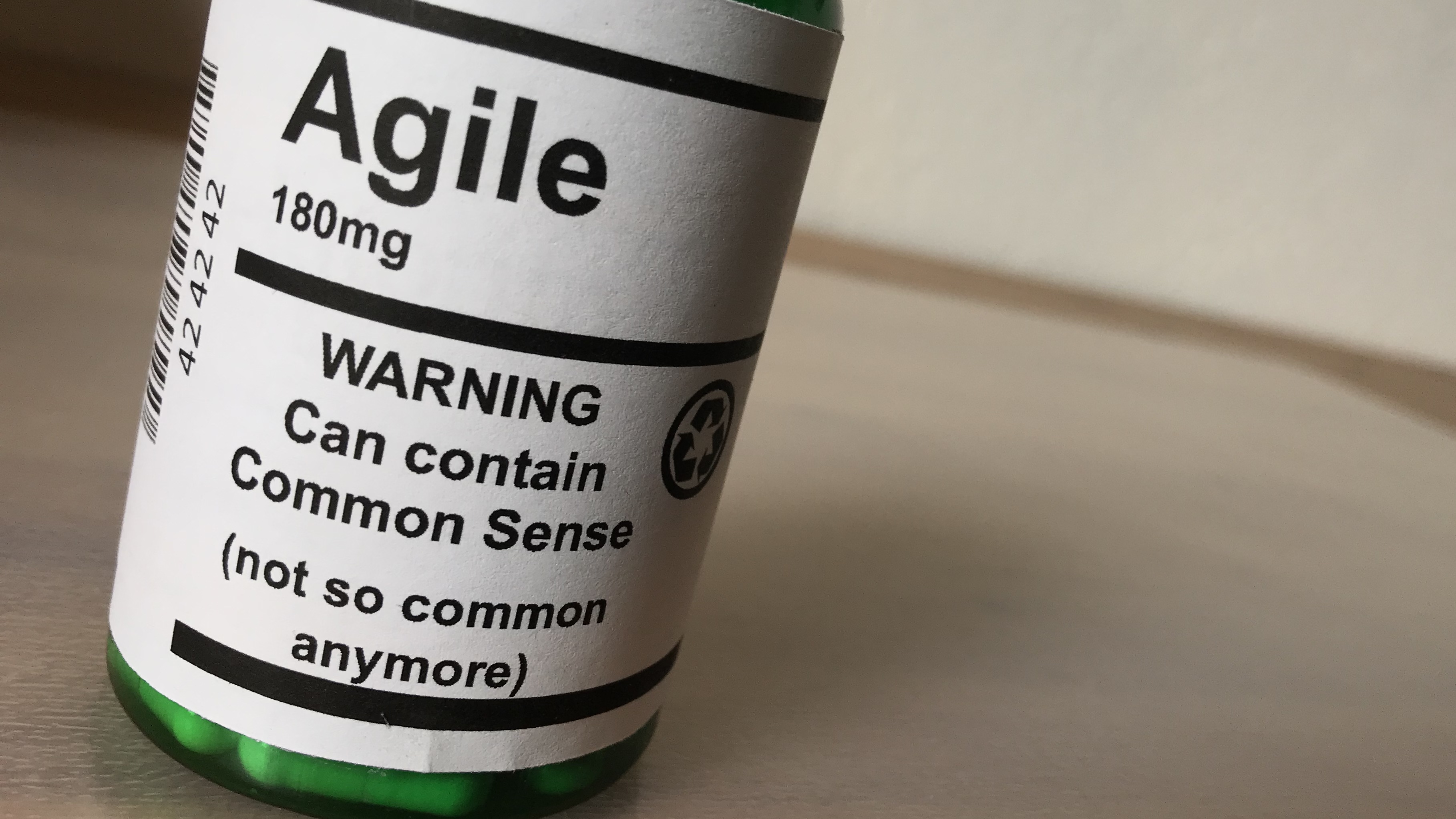 Agile common Sense